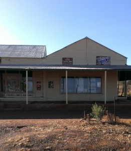 1934 Wiluna Style of Shops