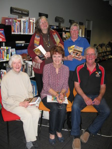 Visiting Author Dave Goddard and Karen Goddard